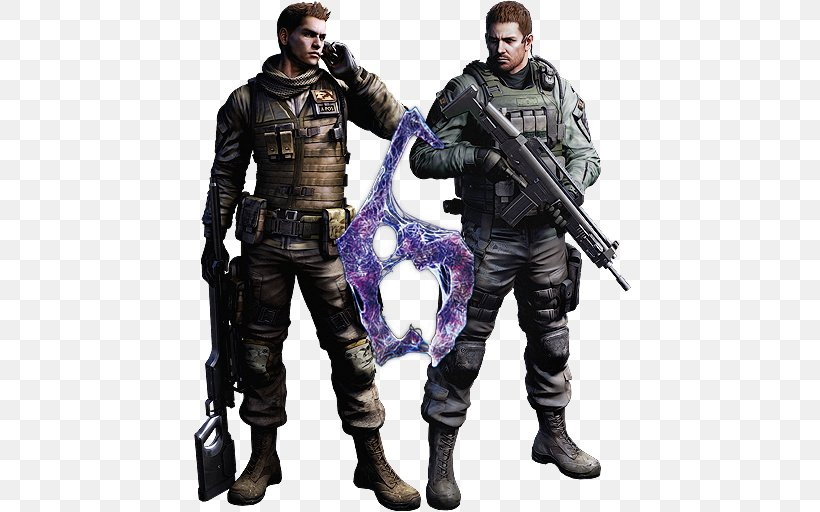 Resident Evil 6 Leon S Kennedy Chris Redfield Resident Evil