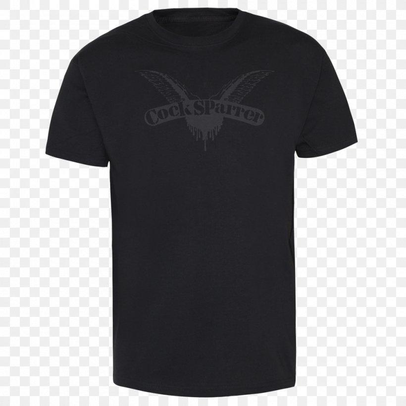 T-shirt Hoodie Sleeve Clothing, PNG, 1000x1000px, Tshirt, Active Shirt, Black, Brand, Clothing Download Free