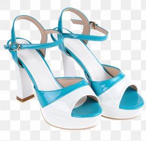 Summer High-heeled Sandals - Sandal Shoe High-heeled Footwear PNG