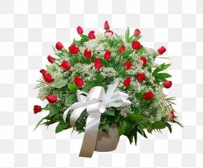 Long Flower - Cut Flowers Flower Bouquet Floristry Rose PNG