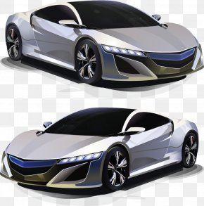 Vector Vehicle - Sports Car Supercar Vehicle PNG