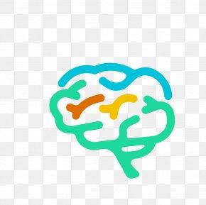 Vector Cartoon Human Brain Material - Brain Graphic Design Royalty-free PNG