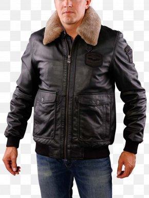 Jacket - Leather Jacket Fur Clothing Raincoat Hood PNG