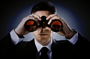 Binocular - Investment Management Business Marketing Office Management PNG