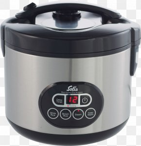 Rice Cooker - Rice Cookers Food Steamers Slow Cookers Kitchen Solis PNG