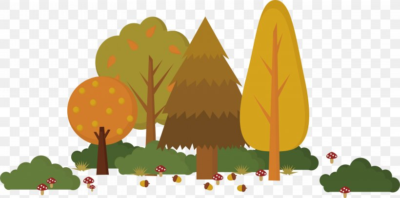 Text Cartoon Leaf Fruit Illustration, PNG, 6204x3075px, Conifer Cone, Art, Cone, Conifers, Flower Download Free