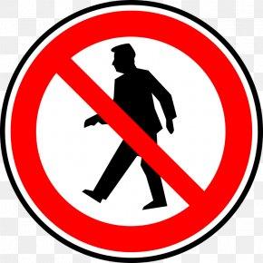 No Alcohol Clipart - Walking Pedestrian Crossing Sign Clip Art PNG