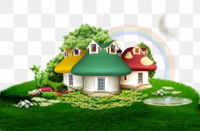Cartoon Background - Landscape Cartoon Wallpaper PNG