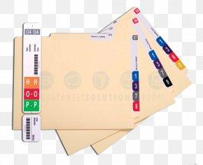 Hoosier Cabinet - Paper File Folders Directory Label Template PNG