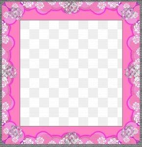 Pink Frame - Picture Frame Pink Pixabay PNG