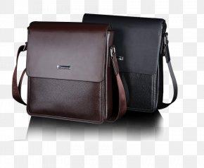 Men's Shoulder Bag Business Bag - Messenger Bag Shoulder Euclidean Vector PNG