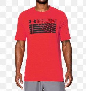 T-shirt - T-shirt Sleeve Under Armour Crew Neck PNG