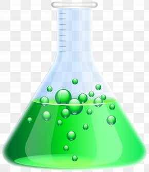 Flask Transparent Clip Art - Laboratory Flask Erlenmeyer Flask Clip Art PNG