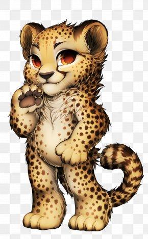 Cheetah - Cheetah Leopard Jaguar Tiger Lion PNG