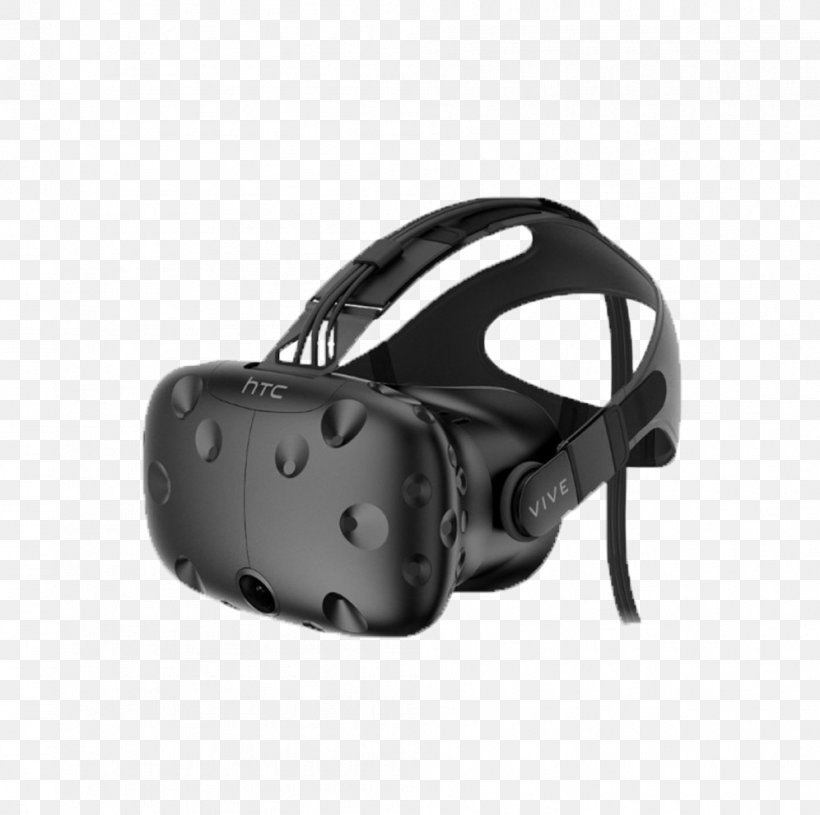 HTC Vive Oculus Rift Samsung Gear VR PlayStation VR Virtual Reality, PNG, 996x991px, Htc Vive, Black, Fashion Accessory, Google Daydream, Hardware Download Free
