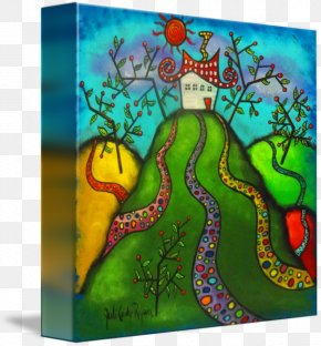 Lead Painting - Art Gallery Wrap Canvas Animal Printmaking PNG