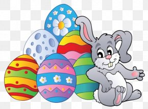 Relying On Easter Egg Bunny - Easter Bunny Easter Egg Clip Art PNG