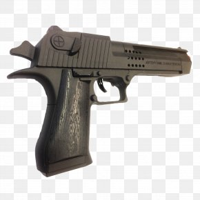 Toy - Trigger Firearm IMI Desert Eagle Toy Weapon PNG