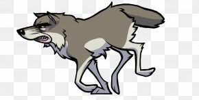 Airwolf Cartoon - African Wild Dog Siberian Husky Drawing Image Clip Art PNG