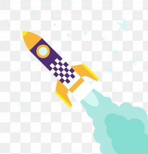 Vector Rocket Illustration - Rocket Launch Download PNG