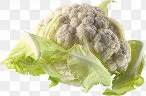 Cauliflower - Cauliflower Cabbage Broccoli PNG