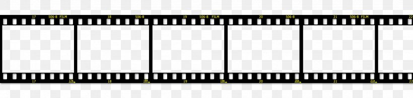 Filmstrip Template Clip Art, PNG, 2048x492px, Film, Black And White, Brand, Cinematography, Digital Piano Download Free