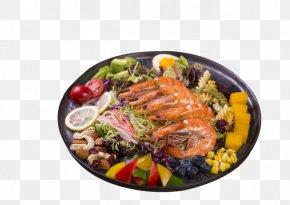 Seafood Platter Of Fruits And Vegetables - Plateau De Fruits De Mer Seafood Salad Platter PNG
