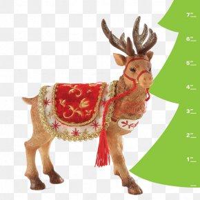 Santa Claus And Reindeer - Santa Claus's Reindeer Santa Claus's Reindeer Christmas Decoration PNG
