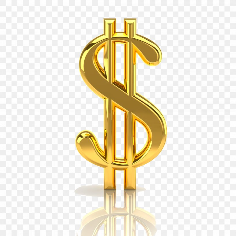 Dollar Sign United States Dollar Gold Clip Art, PNG, 4000x4000px, Dollar Sign, Banknote, Brass, Currency Symbol, Dollar Download Free