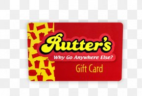 Certificate Gift Card - Rutter's Rewards Gift Card Money PNG