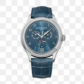 Ladies Automatic Mechanical Watches - Patek Philippe & Co. Annual Calendar Complication Automatic Watch PNG
