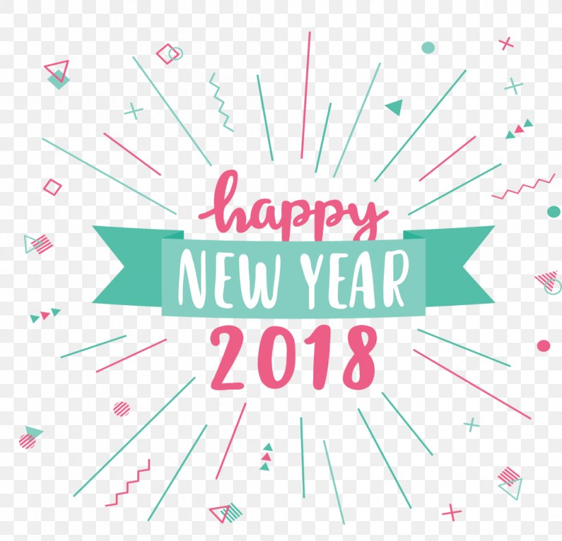 New Year's Day New Year's Eve Wish Christmas, PNG, 1053x1014px, 2017, 2018, New Year, Area, Brand Download Free