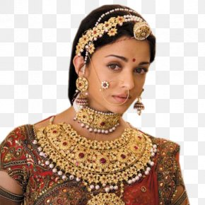 Aishwarya Rai - Aishwarya Rai Jodhaa Akbar Jewellery Clothing Wedding Dress PNG