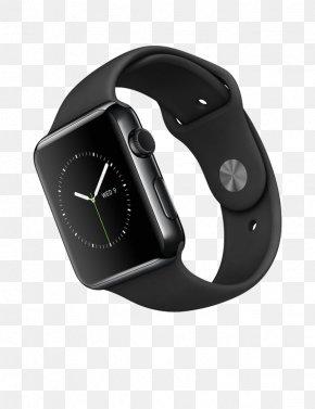 Black Smart Watch - Apple Watch Series 2 Apple Watch Series 1 Smartwatch Stainless Steel PNG