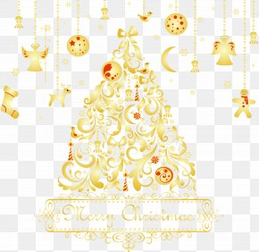 Christmas - Christmas Tree Christmas Decoration Christmas Ornament Clip Art PNG