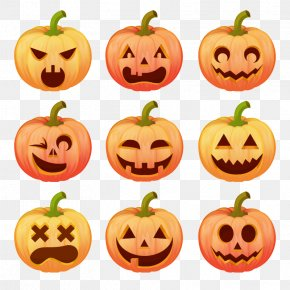 Halloween Pumpkin Smiley Package - Halloween Pumpkin Jack-o-lantern Stingy Jack PNG