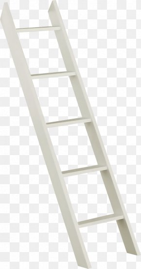 White Ladder - Ladder Stairs PNG