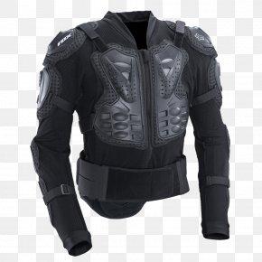 Armour - Body Armor Fox Racing Motocross Jacket Armour PNG