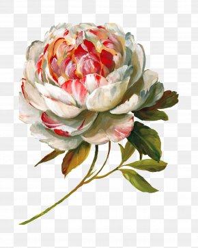 Flower Paint - Flower Art Painting Decoupage Floral Design PNG