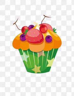 Strawberry Fruit Ice Cream - Muffin Cupcake Birthday Cake Bakery Shortcake PNG