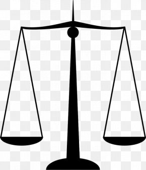 Justice Hammer - Measuring Scales Lady Justice Clip Art PNG