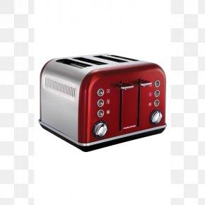 Morphy Richards - Morphy Richards Accents 4 Slice Toaster MORPHY RICHARDS Toaster Accent 4 Discs Breville BTA840XL Die-Cast 4-Slice Smart Toaster PNG