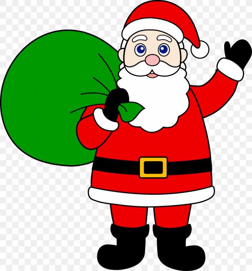 Santa Claus Christmas Clip Art, PNG, 830x891px, Santa Claus, Area, Artwork, Blog, Cartoon Download Free