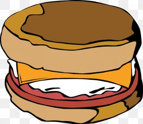 DWI Cliparts - Breakfast Sandwich Egg Sandwich Bacon, Egg And Cheese Sandwich Fried Egg PNG