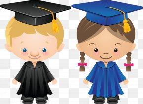 Graduation - Graduation Ceremony Graduate Boy Academic Dress Square Academic Cap PNG