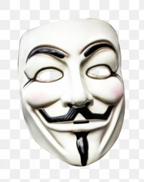 Masck - Guy Fawkes Mask Anonymous PNG