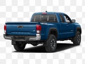 Off Road Vehicle - 2018 Toyota Tacoma TRD Off Road Access Cab 2018 Toyota Tacoma SR5 Access Cab Car Four-wheel Drive PNG