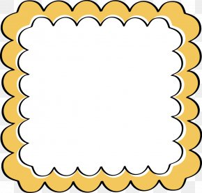Scallop Border Cliparts - Borders And Frames Picture Frame Free Content Clip Art PNG