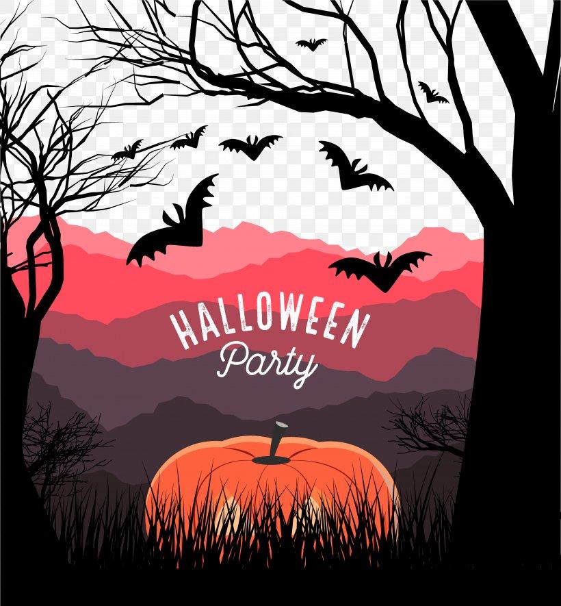 Royalty-free Stock Illustration Illustration, PNG, 3856x4166px, Royalty Free, Art, Halloween, Illustration, Landscape Download Free