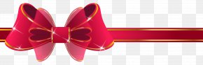 Beautiful Red Ribbon Clipart Image - Red Ribbon Paper Clip Art PNG